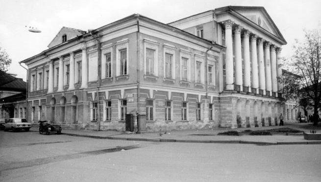 Главный дом усадьбы Борщова