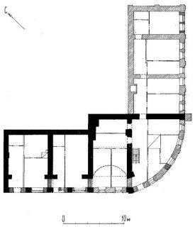 План 1-го этажа рядов