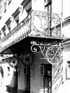 """""""Постоялый дом"""" Колодкиных. Фрагмент главного фасада"""