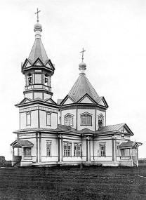 Навсегда утраченное: деревянная церковь в Андрианово