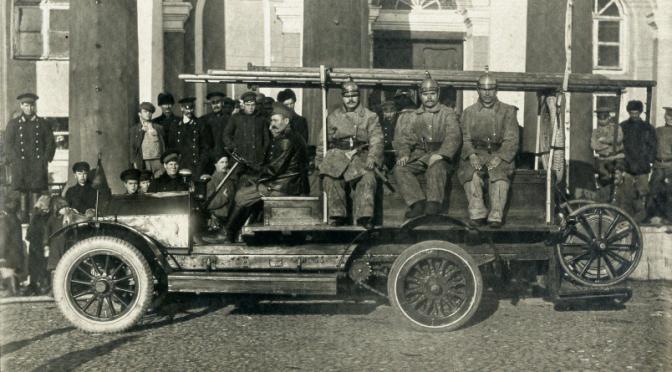 Пожарную команду костромичи организовали в 1823 году